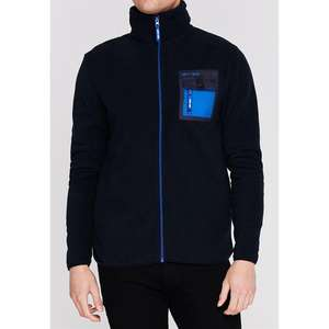 Gio Goi Pocket Fleece in Navy £16.99 delivered at Sports Direct