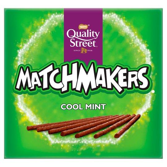 Quality Street Matchmakers 99p instore at Lidl. Orange, Mint, salted caramel
