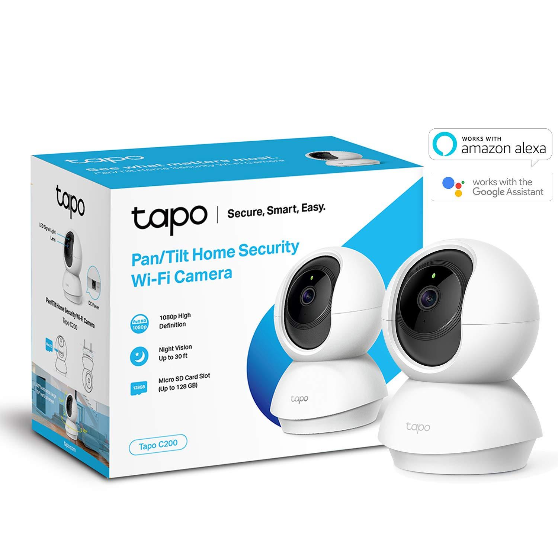 TP-Link Indoor Security Camera, 360°, Alexa&Google Home, No Hub Required, 1080p, 2-Way Audio, Night Vision, SD Storage - £29.74 @ Amazon