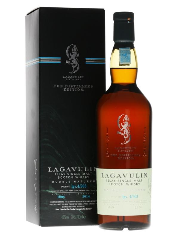 Lagavulin Distillers Edition Double Matured Single Malt Scotch Whisky 2018 , 70cl - £65.99 Amazon