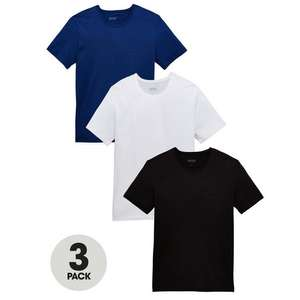 BOSS 3 pk core t shirts £22 click and collect from Very