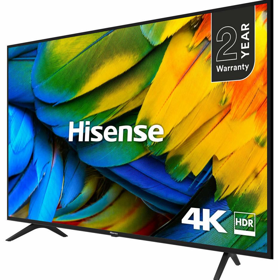 Hisense H43B7100UK B7100 43 Inch TV Smart 4K Ultra HD LED Freeview HD 3 HDMI + 2 Year Warranty - £224.10 with code @ AO eBay