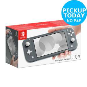 Nintendo Switch Lite Console in Grey, Yellow or Turquoise £179.99 from Argos eBay using code