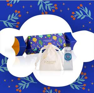 Free charming cracker with £15 spend from L'Occitane
