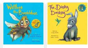 WH Smith's - buy Dinky Donky book £4.99 and get Willbee The Bumble bee for free