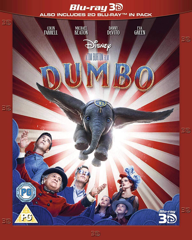 Disney's Dumbo 3D + 2D BLU RAY @ Amazon £11.99 Prime / (+2.99 Non prime Postage)