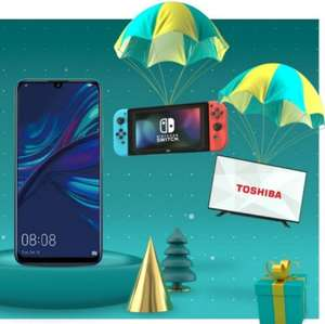 "Free 43"" tv, Nintendo switch or certain phones with EE"