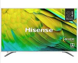 Hisense 75 inch 4k Dolby Vision HDR H75B7510UK HD Freeview WiFi Smart TV £924 @ Ebay Argos