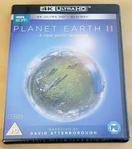 Planet Earth II A New World Revealed 4K UHD Edition and Blu Ray £9.99 delivered @ cardboardstory4 ebay