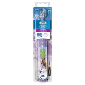 Oral-B Stages Power Battery Toothbrush featuring Frozen Characters - £3.14 with code @ Lloyds Pharmacy. Free Click & Collect