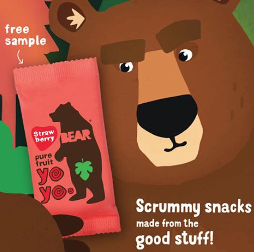 Free Yoyo snack from Bear (FB)