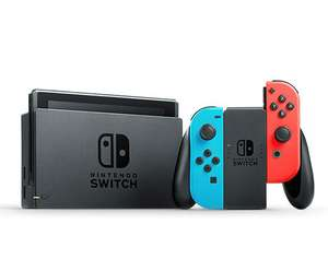 Nintendo Switch with Neon Blue and Neon Red Joy‑Con £227.99 @ eGlobal central