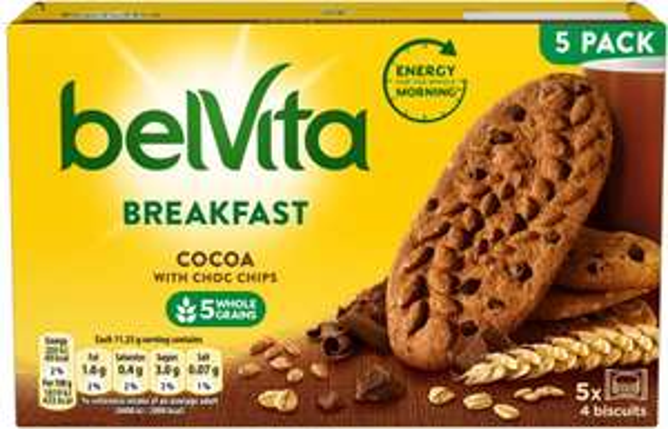Belvita Biscuits 5 pack (All varieties) £1 @ Asda