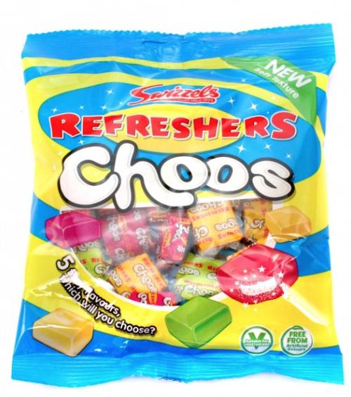 Refresher choos (chews) 89p B&M - Plympton