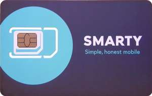 45GB Sim only Unlimited calls / texts £15 a month (1 month contract) at Smarty