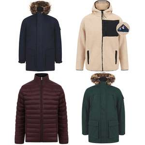 50% Off 100+ Men's Clothing Items using code EG: Parka Jackets £25, Quilted Puffer Jackets £19.99, Jumpers from £7.49 & more @ Tokyo Laundry