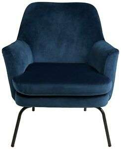 Habitat Celine Fabric Armchair - Blue 20% off orders over £150 plus 10% Extra using code - £147.35 delivered @ Argos / eBay