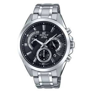 Men's Casio Edifice Chronograph Watch (EFV-580D-1AVUEF) + Free Tracked Express Delivery - £51.75 Using 25% Off Code @ Watchshop