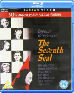 The Seventh Seal (Classic Film by Ingmar Bergman) 50th Anniversary Special Edition Blu-Ray £5.69 @ Amazon Prime / £10.18 Non Prime