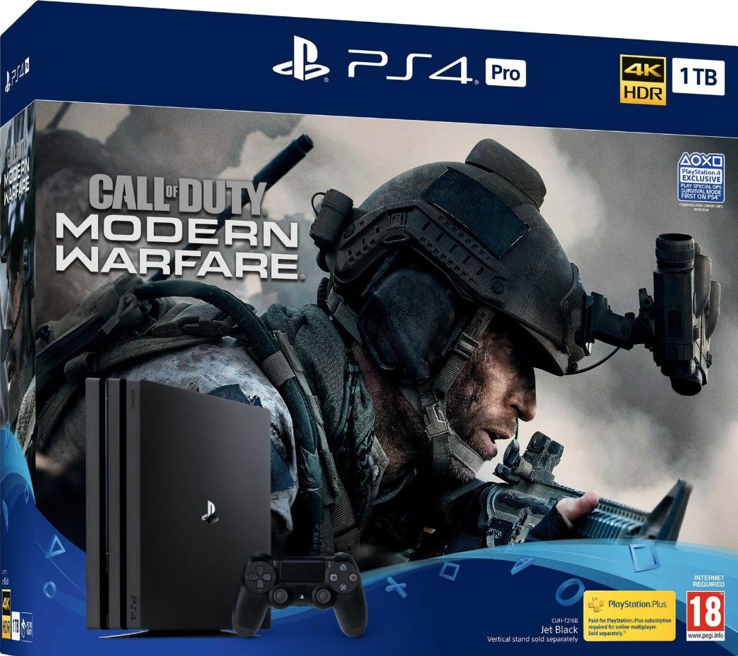 Call of Duty: Modern Warfare PS4 Pro Bundle £296.87 @ Ebay - Boss_deals