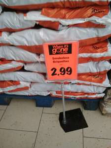Smokeless coal briquettes £2.99 at Lidl, Kingswinford