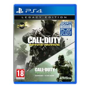 Call of Duty Infite Warfare Legacy Edition inc. Modern Warfare Remaster PS4 £11.99 @ 365 Games