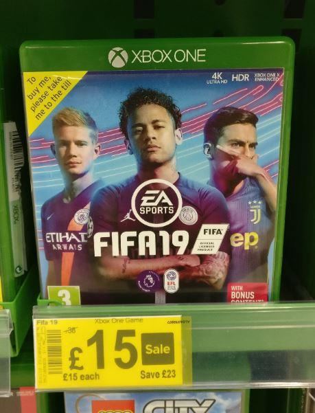 FIFA 19 £15 @ ASDA Enniskillen