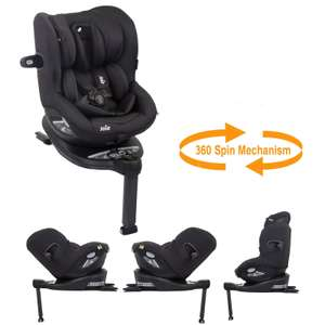 Joie i-Spin 360 iSize Group 0+/1 Car Seat - Coal £219.99 at Online4baby