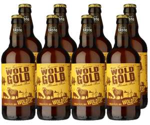 Wold Gold Beer - 8 x 500 ml £2.02 - Amazon Prime Now