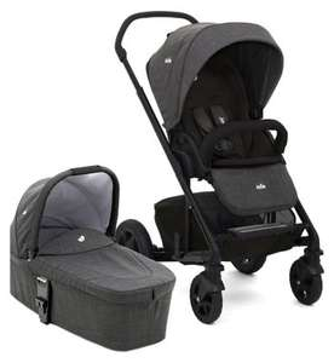 Joie Chrome DLX Pushchair & Carrycot - Pavement £280 @ Boots plus 2% tcb and 952 boots advantage points