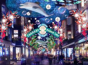 Carnaby Christmas lights 2019 FREE LONDON EVENT!