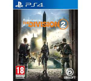 Tom Clancy's The Division 2 PS4 £15.97 @ Currys PC World