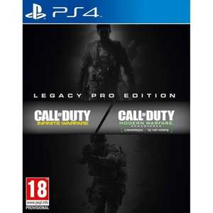 [PS4] Call Of Duty Infinite Warfare Legacy PRO Edition Inc Steelbook, MW Remastered, Season Pass & More £10.99 delivered @ go2games