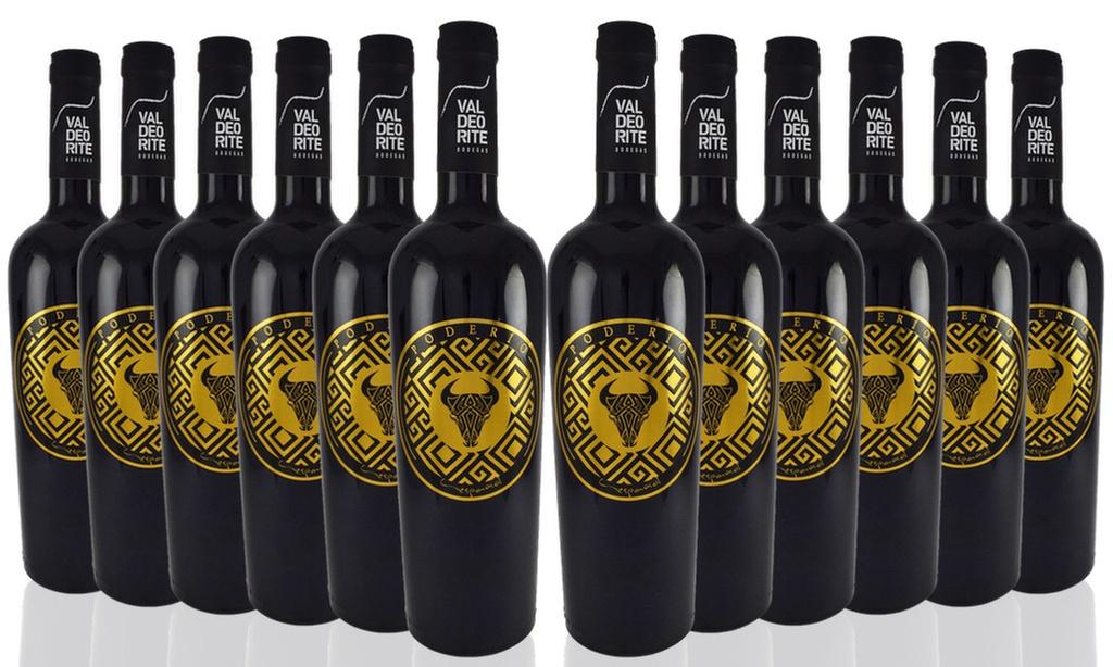 12 Bottles of Poderío Español Spanish Red Wine £43.28 @ San Jamon Groupon