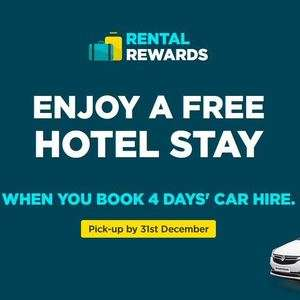 Arnold Clark book 4 day car hire and get a free hotel stay (may be existing customers only)