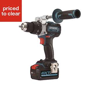 Erbauer EXT Cordless 18V Lithium-ion Brushless Combi Drill 2x 5Ah batteries ECDT18-Li-2 on Clearance £115 in-store @ B&Q
