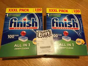 100 Finish Powerball All in 1 dishwasher tablets £7.99 in store @ B&M (Exeter)