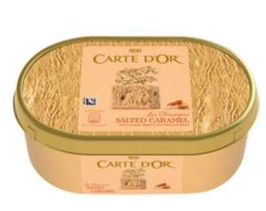 Carte D'Or Ice Cream 1L tubs (all varieties) £1.90 at Asda Instore and Online