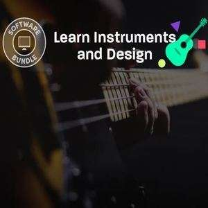 Learn instruments and design Humble Bundle 77p