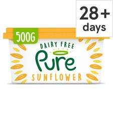 Dairy Free Pure Sunflower Spread (vegan friendly) 500g - £1 @ Tesco