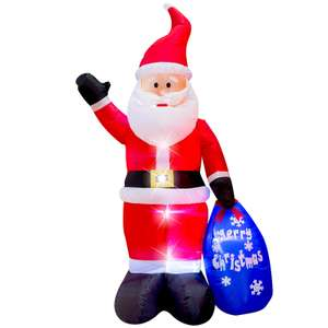 6ft Inflatable Santa at Homebase for £20 (C&C / delivery from £5)