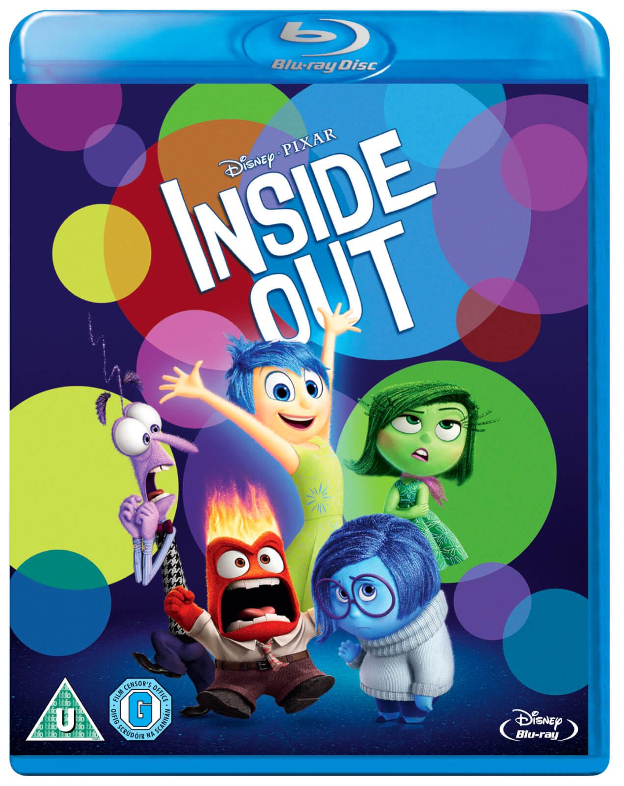 INSIDE OUT (Disney Pixar) Movie Blu-Ray + Exclusive Joy Slipcover £3.79 @ Amazon Prime (+£1.99 non Prime)