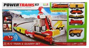 Power Trains Radio Controlled Quarry Set or Chad Valley City 100 Piece Playset for £15 @ Argos