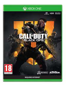 Call of duty black ops 4 Xbox one - Used - Very Good £6.23 at Amazon sold by musicMagpie