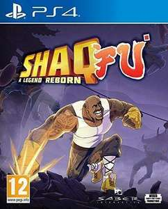 Shaq Fu - A Legend Reborn PS4 Video Game £3.99 on ebay.co.uk sold by dvdbayuk_outlet