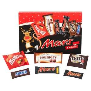 Half Price Selection Boxes £1 at Morrisons e.g Mars & Friends 114g / Cadbury Santa box 152g / M&M + Friends 144g