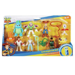 Toy Story 4 Imaginext Deluxe 8 Pack Figure Set £10 Argos