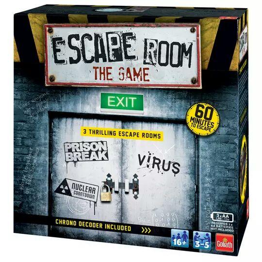 Goliath Games Escape Room board game £24 using code @ Argos