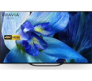 "SONY KD55AG8BU 55"" Smart 4K Ultra HD HDR OLED TV with Google Assistant £1299 @ Currys PC World"
