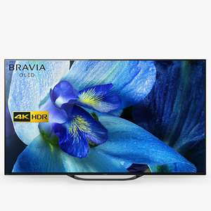 """Sony Bravia KD55AG8 (2019) OLED HDR 4K Ultra HD Smart Android TV, 55"""" with Freeview HD £1299 John Lewis & Partners"""